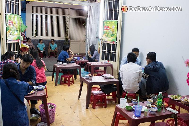 Ốc cô Tuyết ở 10/17 Hoàng Hoa Thám, quận Bình Thạnh