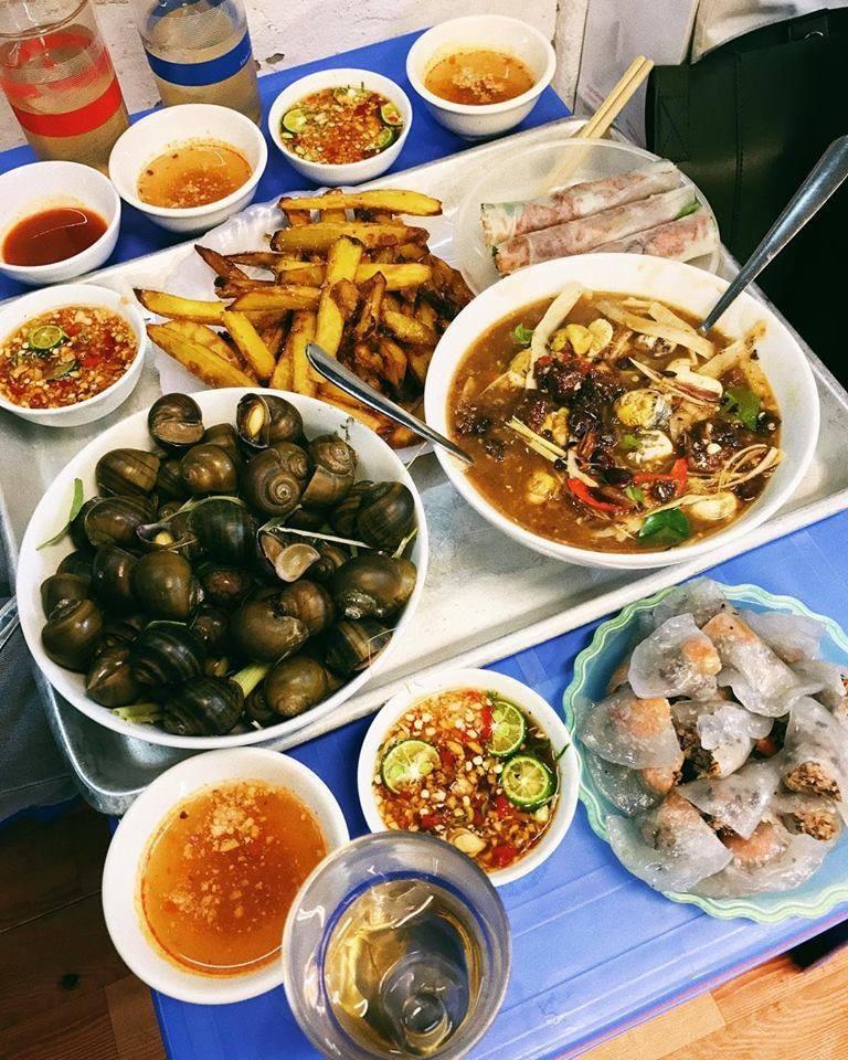 Một số hình ảnh món ăn tại quán
