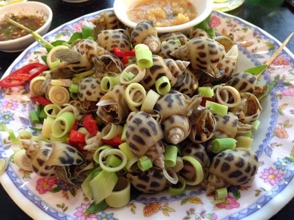 Ốc hương tự nhiên Nha Trang