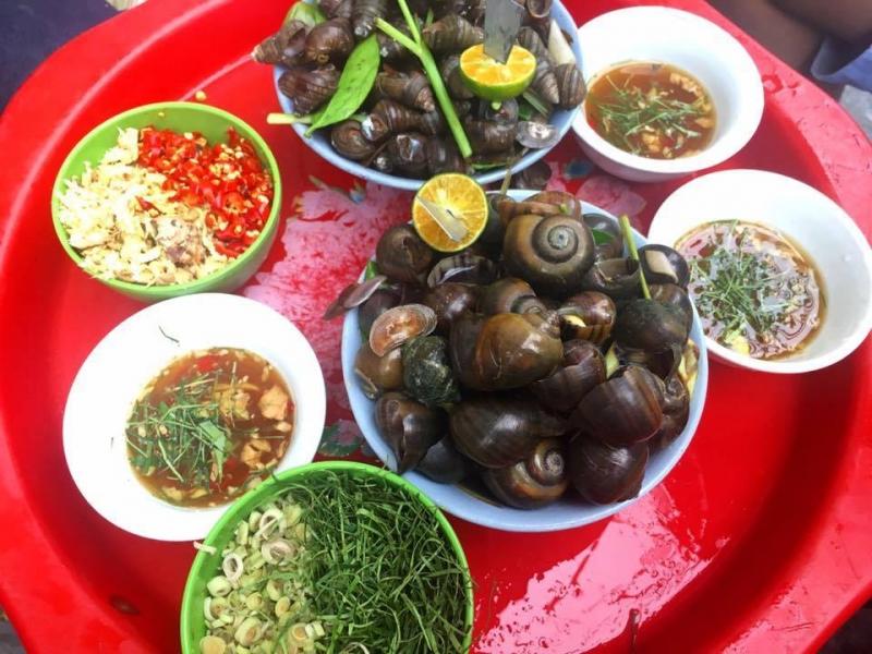 Ốc luộc Vỉa hè Nam Định