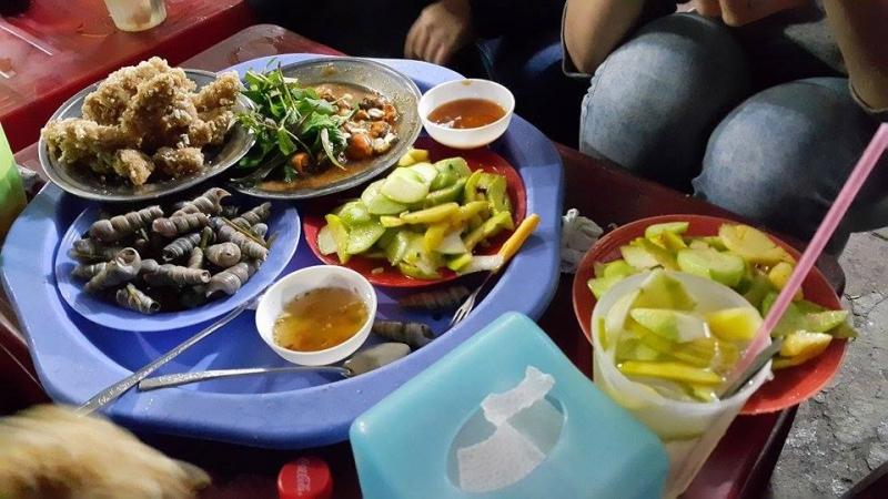 Ốc hút chùa Thanh Hà