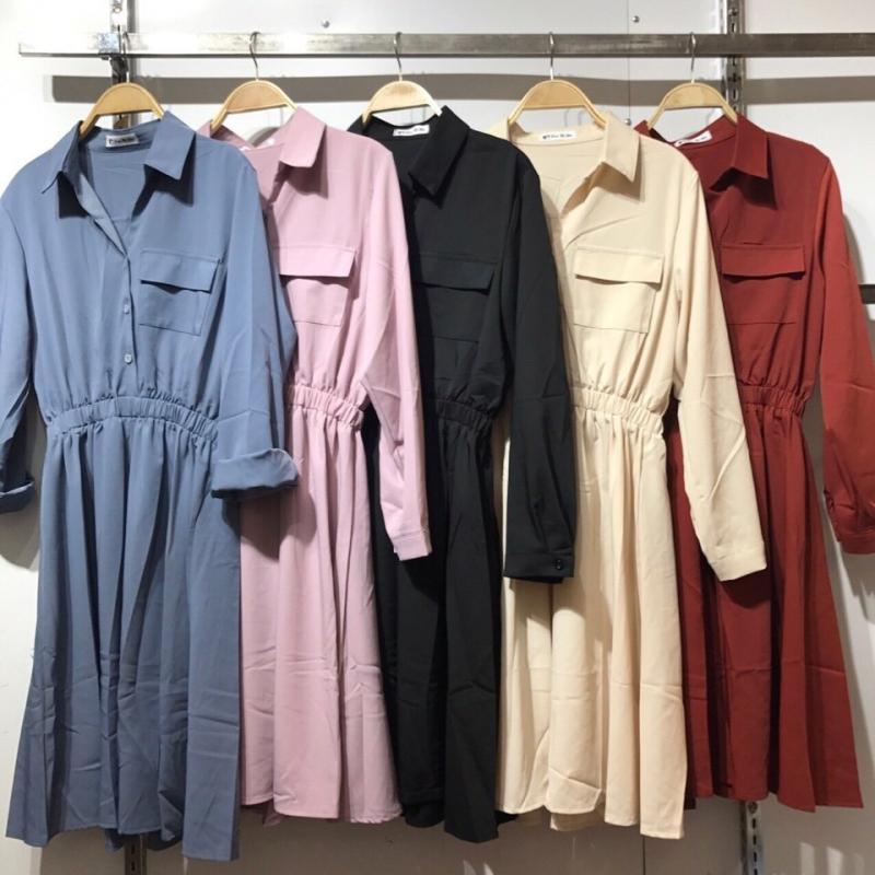 Shop thiên về các loại đầm, áo, chân váy mang một chút hơi hướng công sở