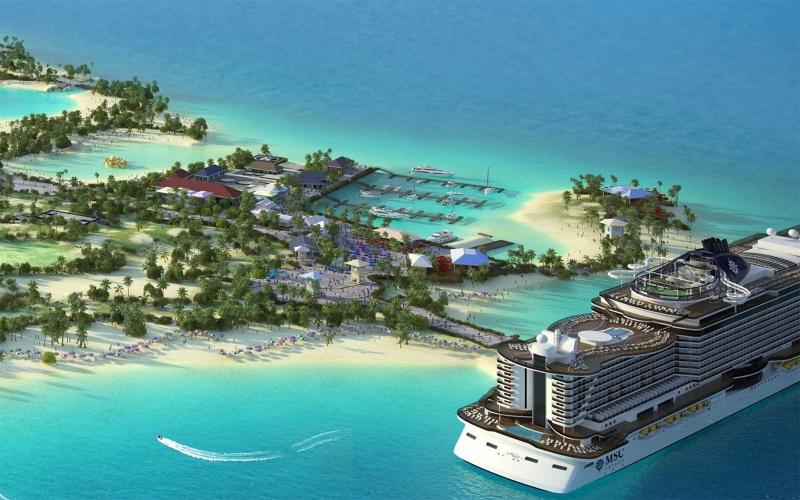 Ocean Cay, Bahamas
