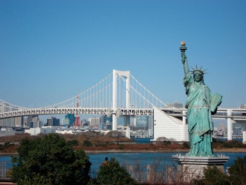 Cầu nối Tokyo với Odaiba