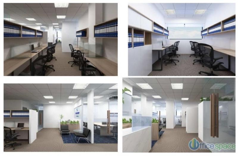 Các văn phòng đều được trang bị cơ sở vật chất đầy đủ.