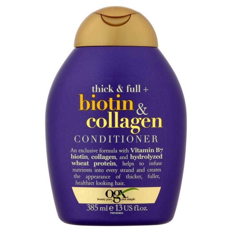 OGX Thick and Full Biotin and Collage Shampoo & Conditioner