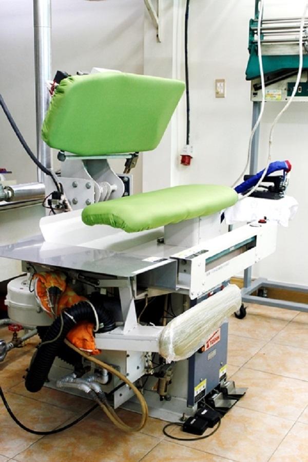 Ohashi sử dụng công nghệ cao trong giặt ủi