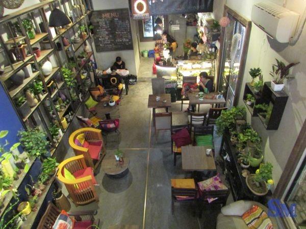 Ohi Tree & Coffe được ví như xứ sở thần tiên giữa lòng Hà Nội với một không gian xanh mướt