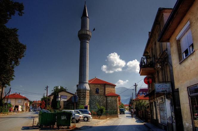 Nhà thờ Hồi giáo Ali Pasha, một trong những dấu vết cuối cùng về sự hiện diện của đế quốc Ottoman ở Ohrid