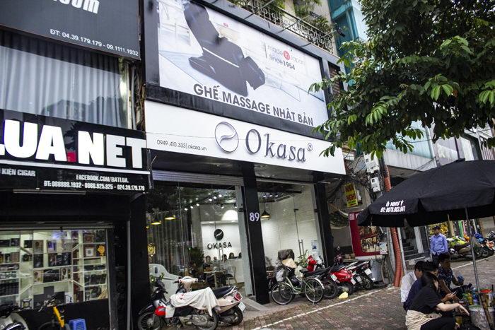 Okasa là nhà nhập khẩu và phân phối ghế massage toàn thân công nghệ Nhật Bản và uy tín, chất lượng.