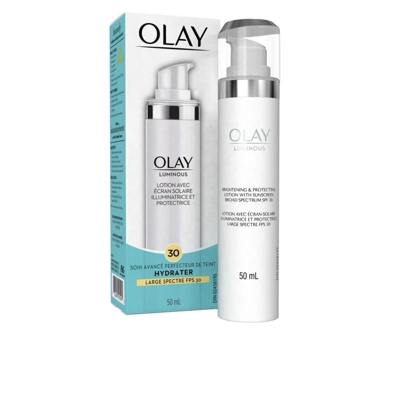 Luminous Brightening and Protecting Lotion là sản phẩm dưỡng ẩm có khả năng chống nắng cao của Olay