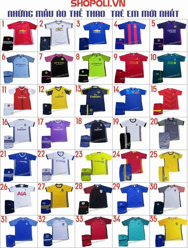 Poli Shop có các mặt hàng quần áo thể thao rất đa dạng để khách hàng có thể thoải mái lựa chọn (Nguồn: Sưu tầm)