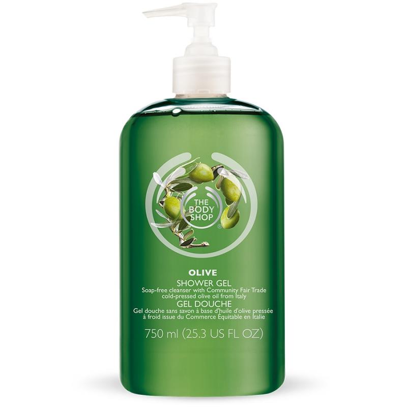 Olive Shower Gel – The Body Shop
