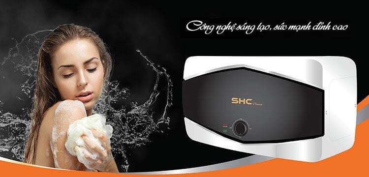Chất lượng là yếu tố giúp bình nóng lạnh SHC là sản phẩm đáng mua