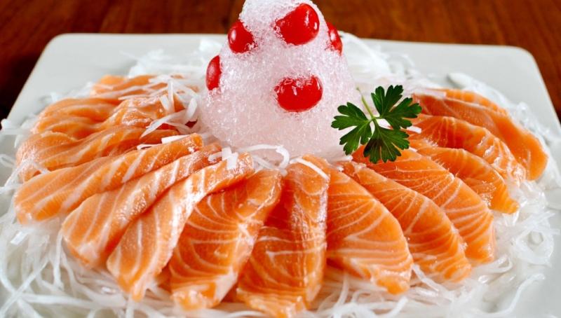 Cá hồi - một trong những thực phẩm giàu Omege-3