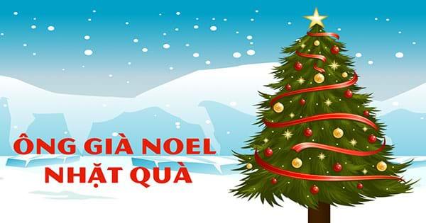 Ông già Noel nhặt quà