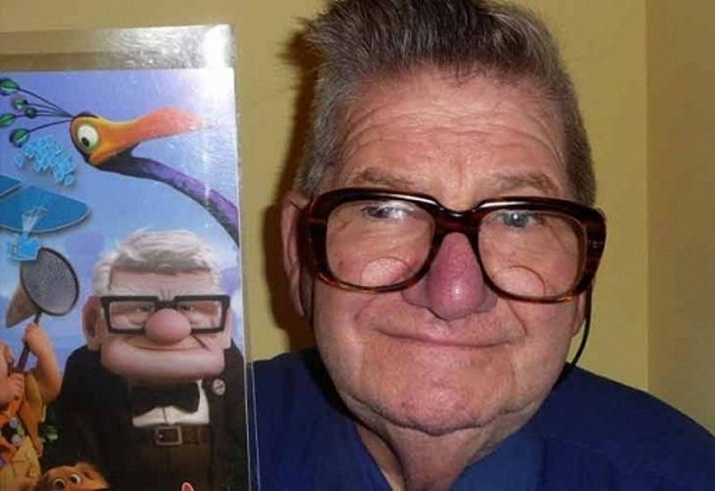 Ông lão góa vợ Carl trong phim hoạt hình Up