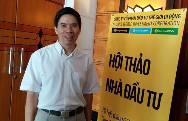 Ông Nguyễn Đức Tài - chủ tịch HĐQT Thế giới di động (MWG)