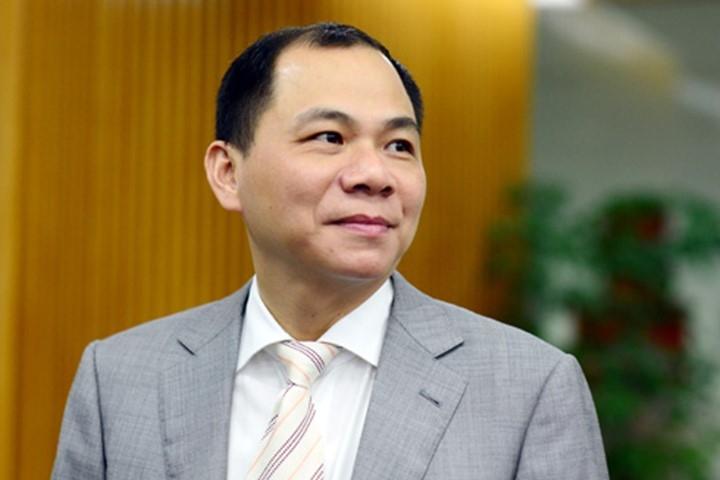 Ông Phạm Nhật Vượng - người giàu thứ 2 sàn chứng khoán Việt Nam 2016