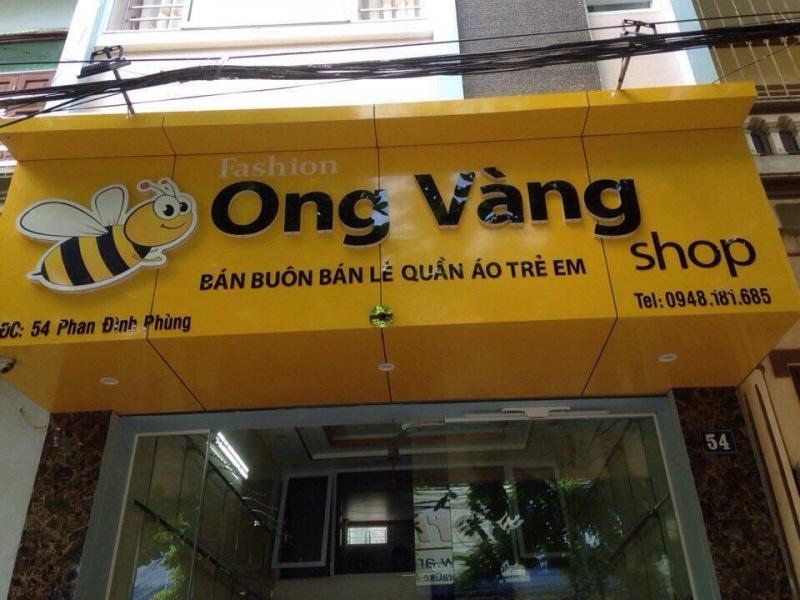 Ong vàng shop