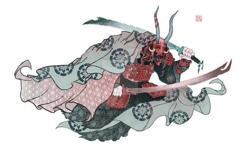 Oni có vẻ ngoài rất đáng sợ