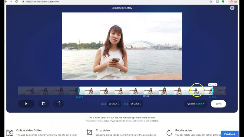 Phù hợp cho nhiều đối tượng với Online Video Cutter