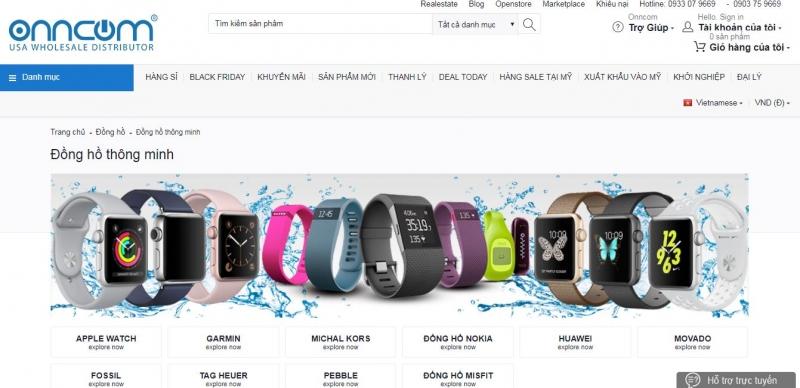Website Onncom.com