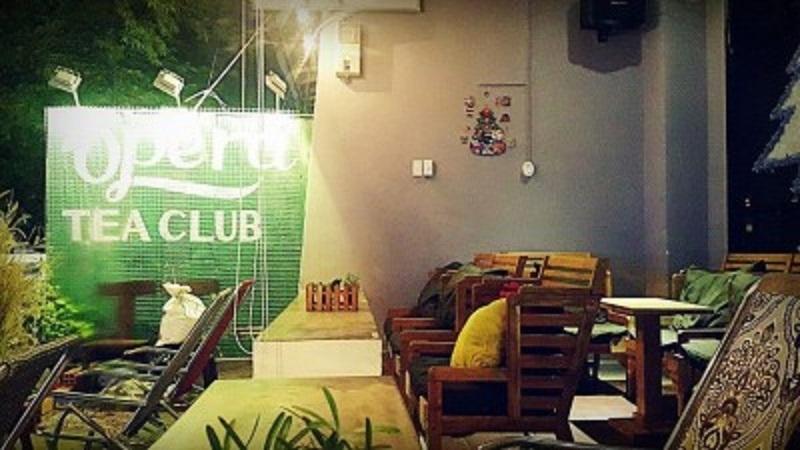 Không gian yên tĩnh tại Opera Tea Club