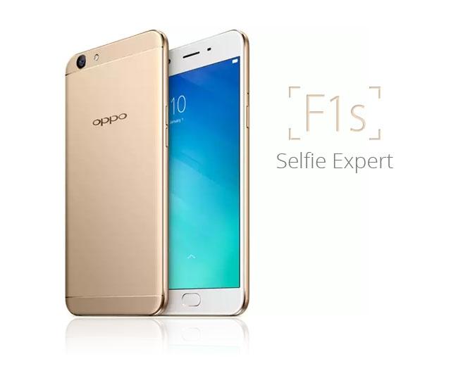 OPPO F1s là một trong những chiếc smartphone bán chạy ba tháng đầu năm 2017
