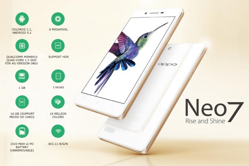 OPPO Neo 7 mang những thay đổi đáng giá về cả màn hình, hiệu năng và cả camera