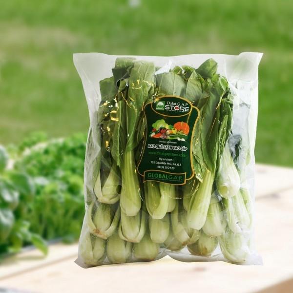 Các loại rau được đóng gói cẩn thận