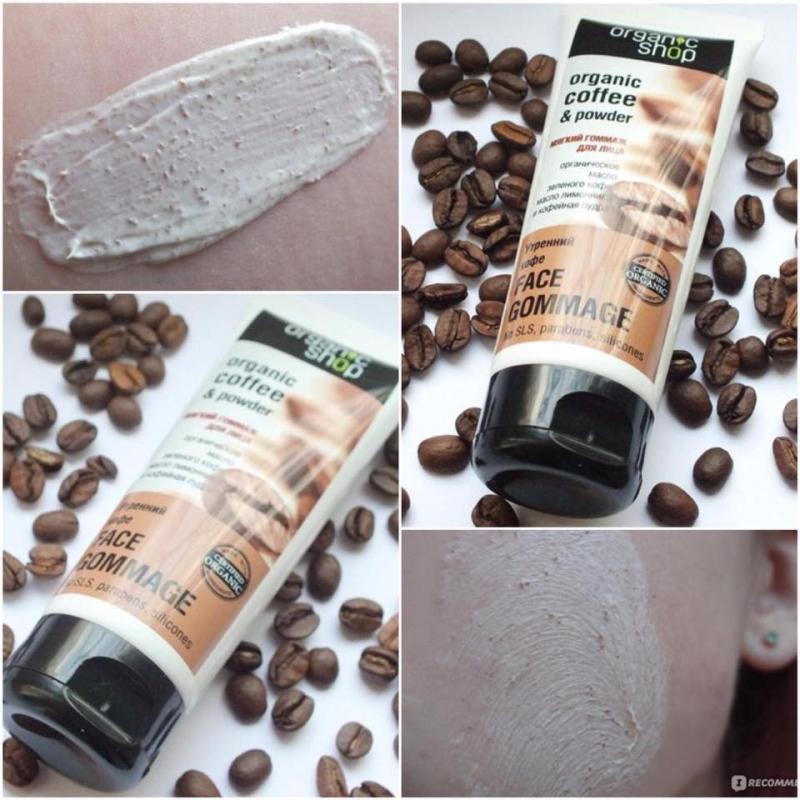 Kem tẩy tế bào chết Organic Shop Organic Coffee and Powder