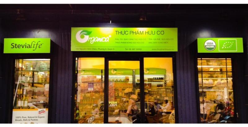 Một cửa hàng Organica tại Thành phố Hồ Chí Minh