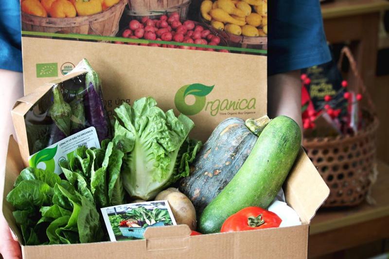 Thực phẩm sạch tại Organica