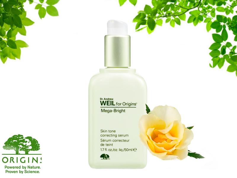 Origins Mega-Bright Skin Tone Correcting là một sản phẩm làm trắng lý tưởng cho những ai đang gặp vấn đề về da như bị tổn thương bởi tia UV, vết thâm do mụn