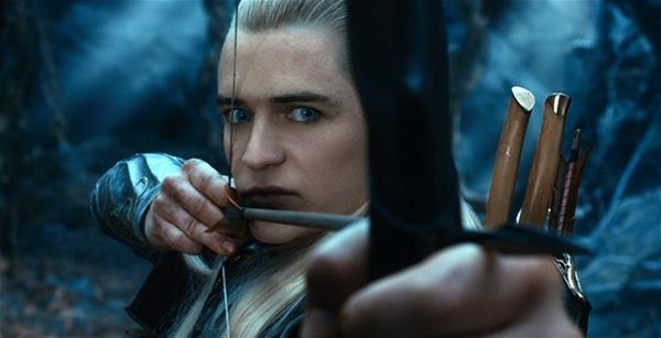 Orlando Bloom trong phim The hobbit