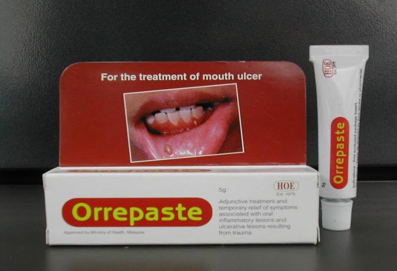 Thuốc bôi nhiệt miệng Orrepaste