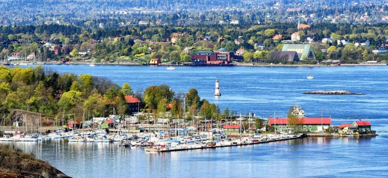 Một góc của Thành phố Oslo - Na Uy