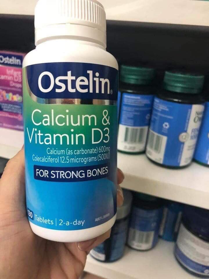 Ostelin Vitamin D & Calcium