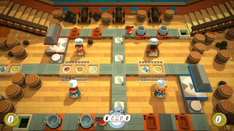 Thử trải nghiệm cảm giác trở thành đầu bếp với game Overcooked
