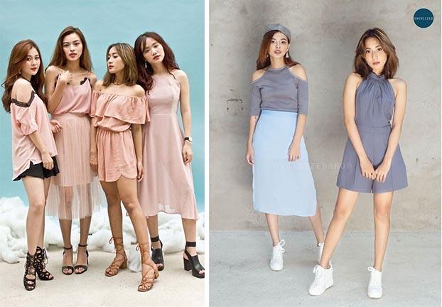 Quần áo tại Oversized Shop có phong cách chủ đạo là sự đơn giản, nữ tính