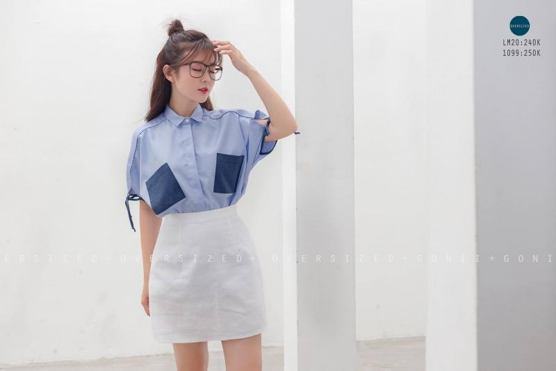 Trang phục chủ yếu là những màu pastel vô cùng trẻ trung
