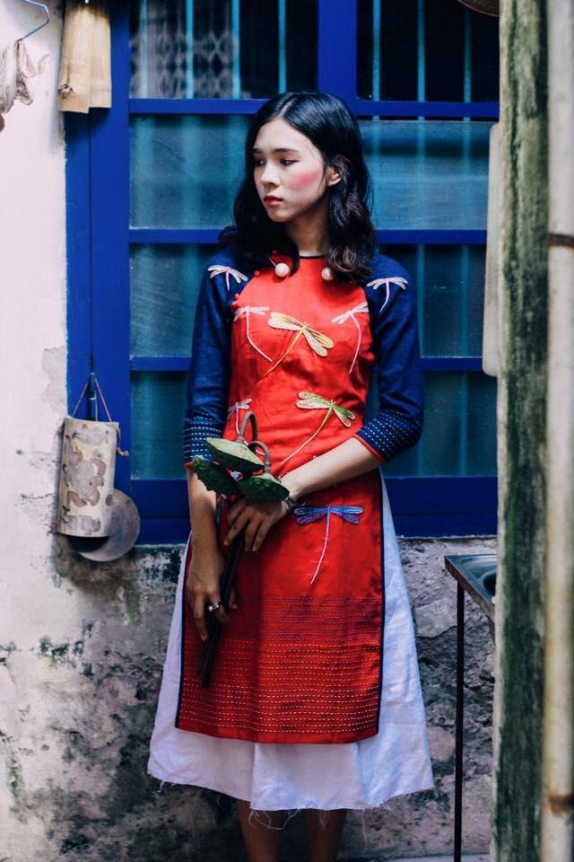 Áo dài pastel đủ màu sắc kết hợp cùng váy tutu yêu không tả