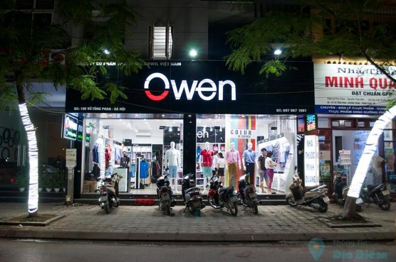 Thời trang nam Owen địa chỉ bán quần âu đẹp nhất Hà Nội