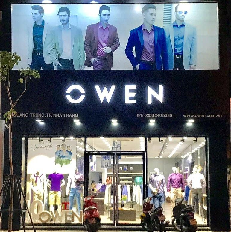 Cửa hàng OWEN NHA TRANG.