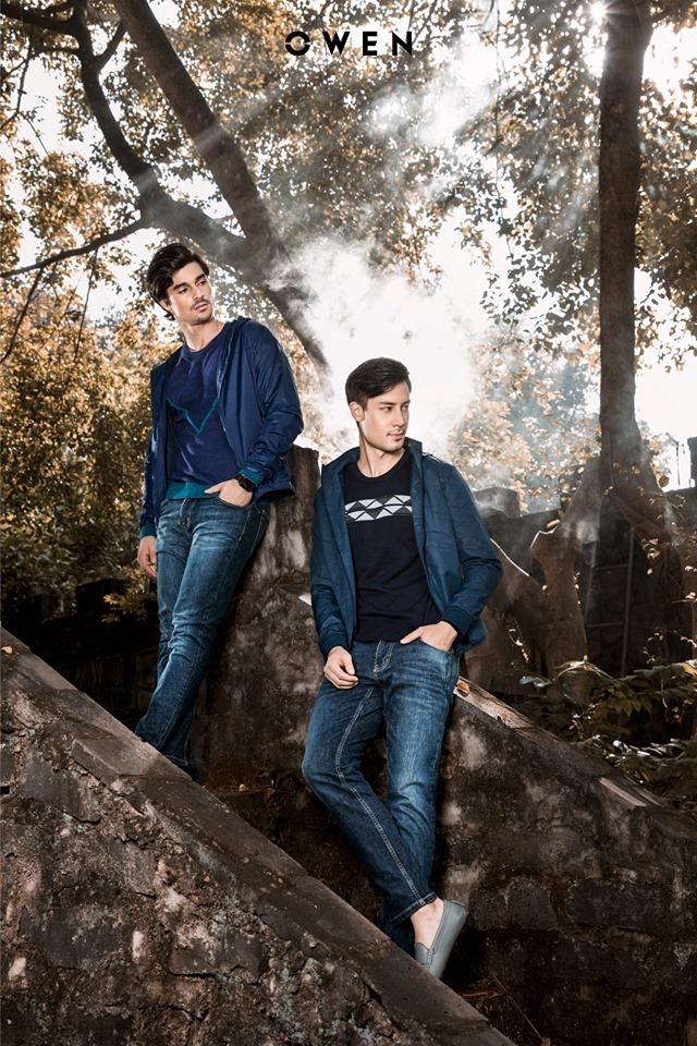 Phong cách năng động trẻ trung với jeans