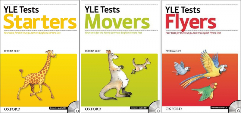 Oxford YLE Tests Starters - Movers - Flyers