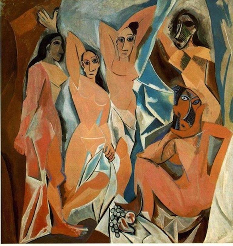 Bức tranh Những cô gái ở Avignion