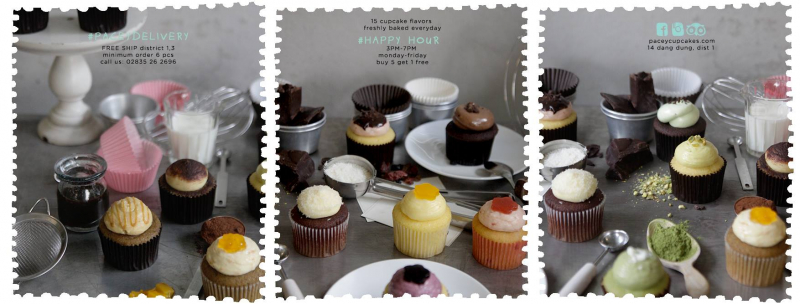 Pacey Cupcakes