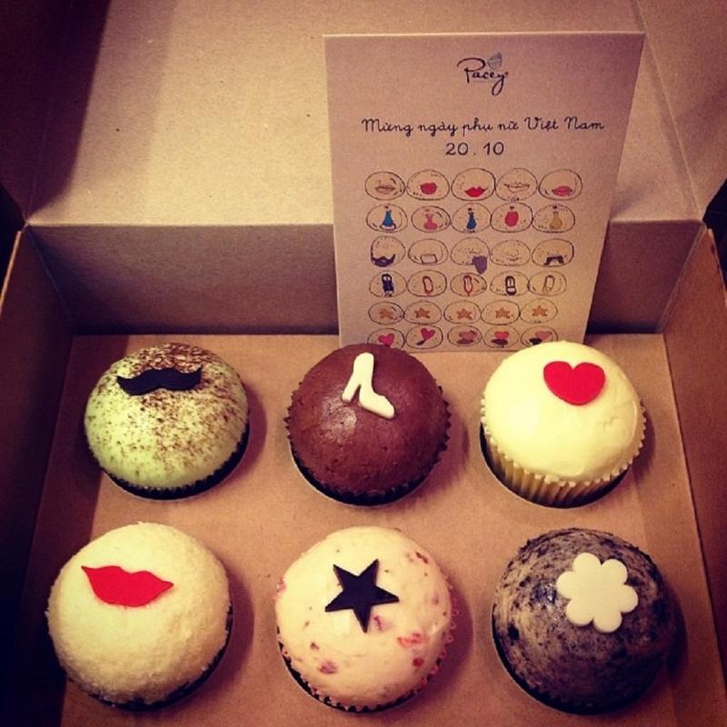 Những chiếc bánh cupcake xinh xắn